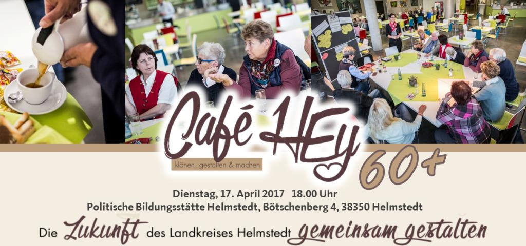 Café HEy 60+ am 17. April 2018 in der PBH Helmstedt